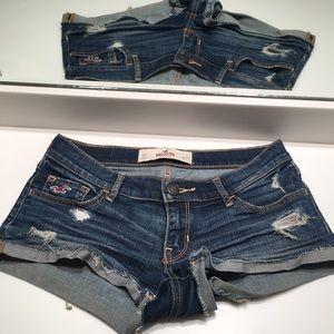 Hollister Shortest Jean shorts